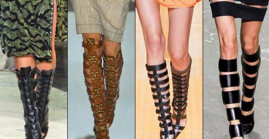 Pantofii cu decupaje raman in topul preferintelor designerilor