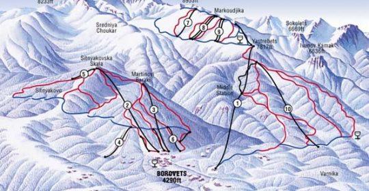 Cele mai in voga statiuni montane din Bulgaria