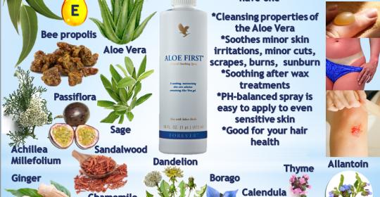 Aloe First nu trebuie sa lipseasca din nicio trusa de prim-ajutor