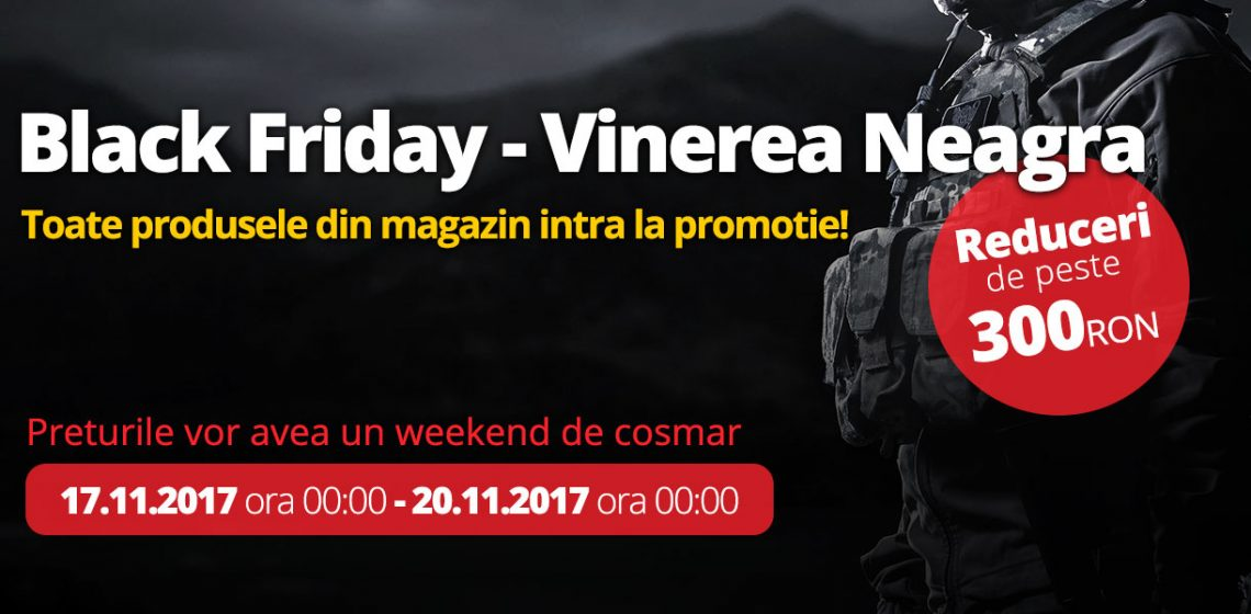 Reduceri Airsoft 6 Black Friday