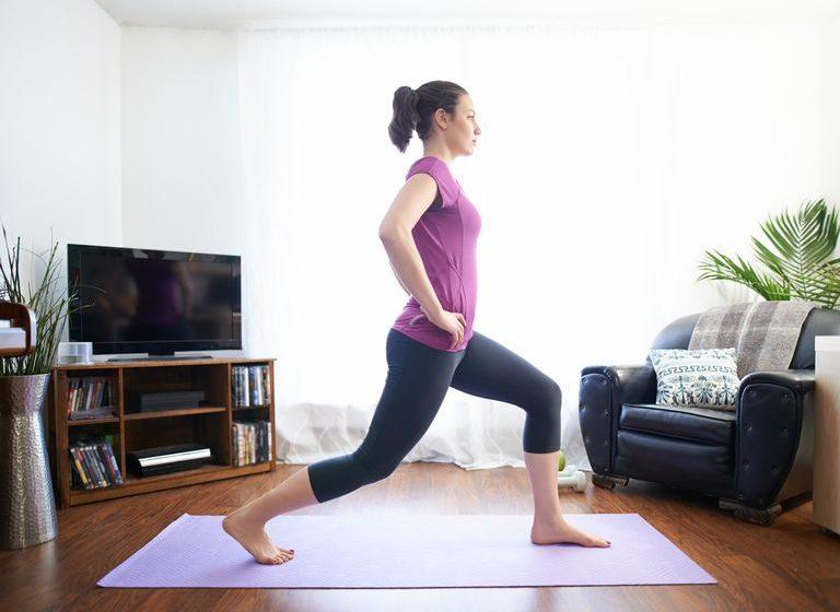 Antrenamente la domiciliu pentru imbunatatirea starii fizice - III